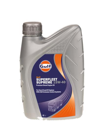 Gulf Superfleet Supreme 15W-40